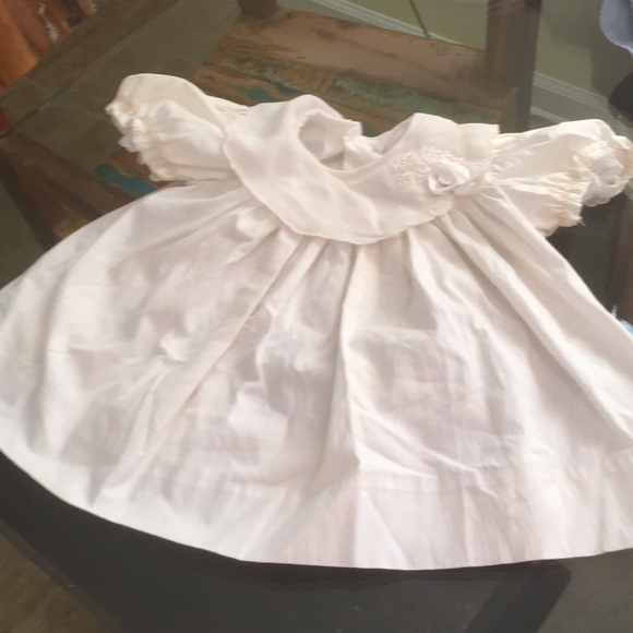 Vintage Dresses Peaches N Cream Baby Dress 69 Months Poshmark